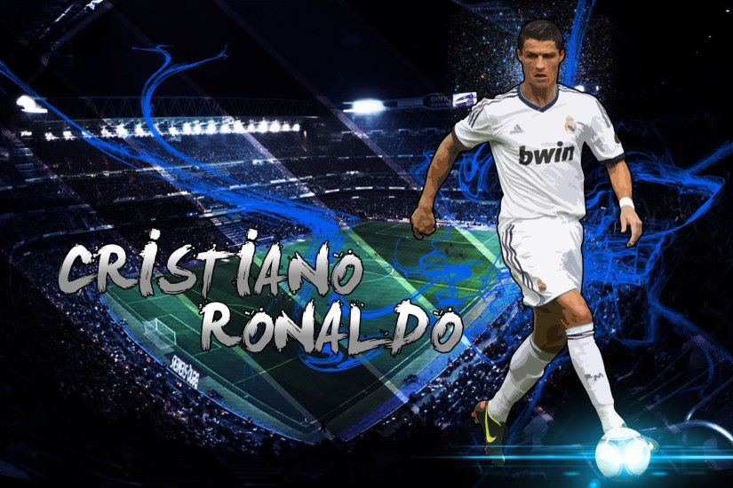 Cristiano Ronaldo, Cr7, Football Player, Real Madrid, Jersey, King, Stadium  Wallpaper HD