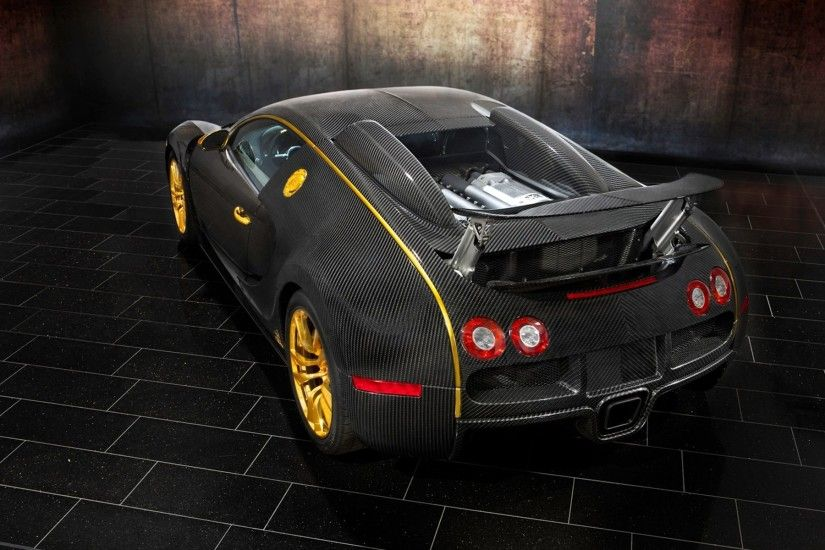 Trimmed with carbon fiber Bugatti Veyron Super Sport