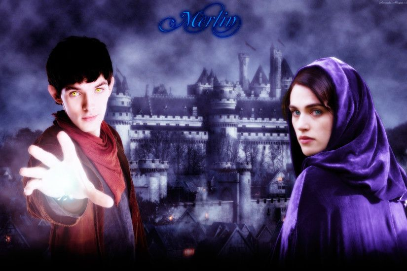 Merlin and Morgana images Merlin HD wallpaper and background photos