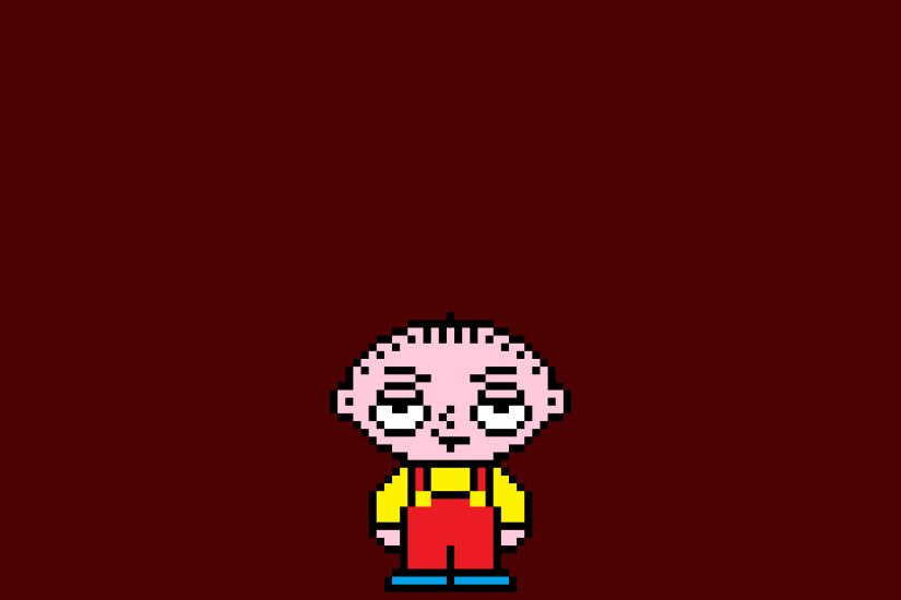 Stewie Griffin, Pixel art, Pixels, The family guy