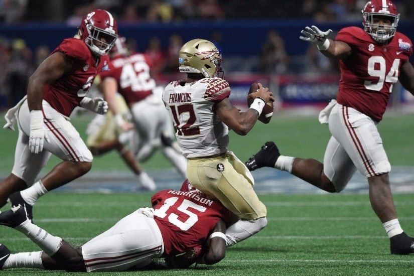 Florida State falls to Alabama, Deondre Francois suffers injury - Orlando  Sentinel