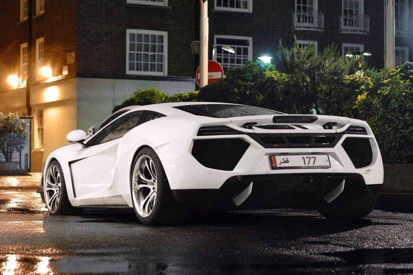 Cars: McLaren Roads Supercars Rain Wallpaper Pictures HD for HD 16 .