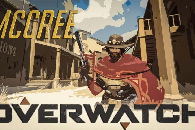 mccree wallpaper 1920x1080 720p