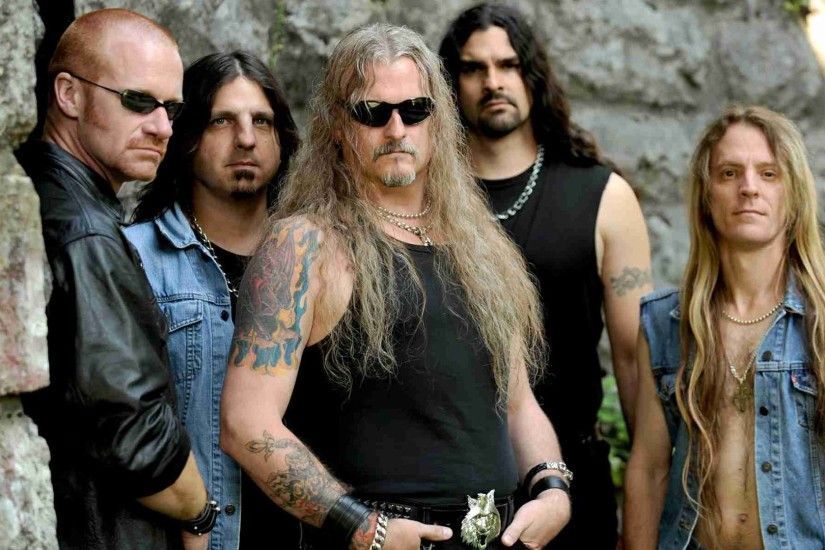 1920x1080 Wallpaper iced earth, hair, glasses, tattoo, stone
