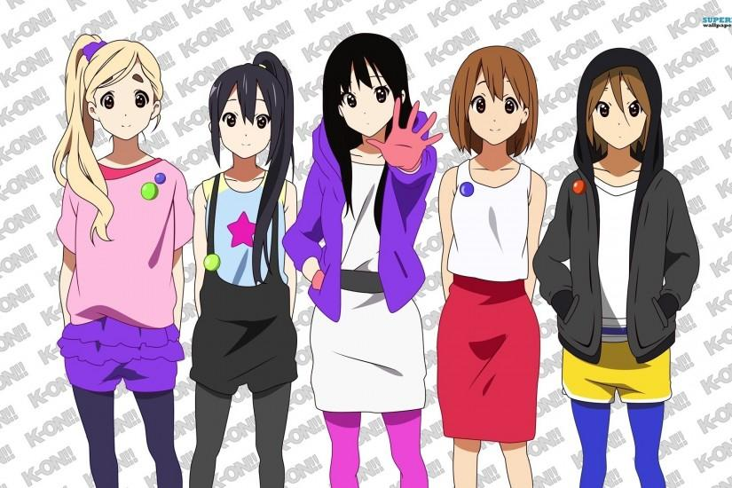 K-ON As A Group!