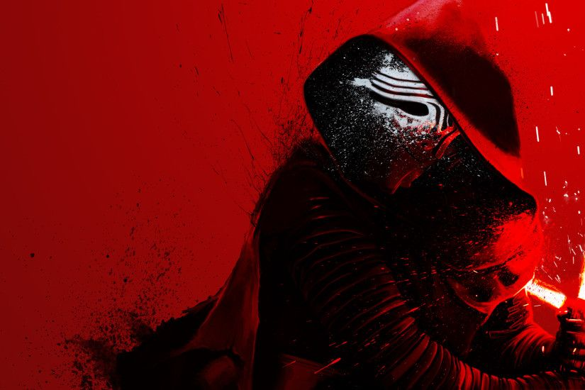 Kylo Ren wallpaper (3440x1440) ...