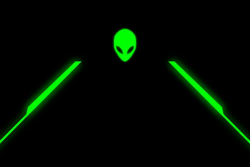 ... alienware-wallpapergreensimple4k.png
