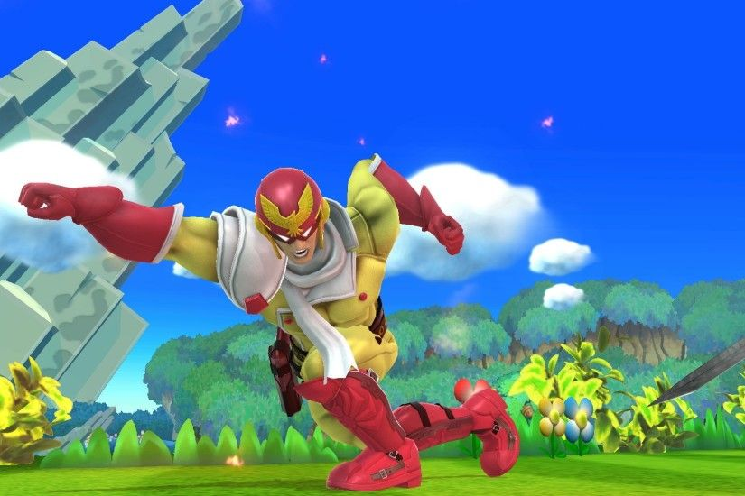 ... One Punch Man - Captain Falcon ...