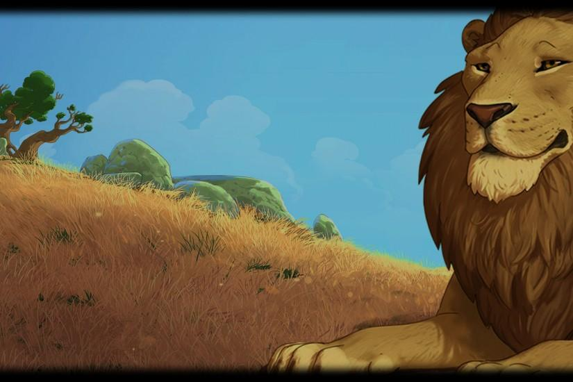lion background 1920x1080 cell phone