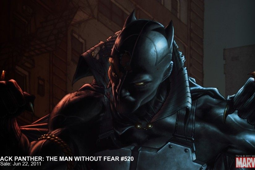 Black Panther: Man Without Fear #520 Wallpaper | Marvel.com