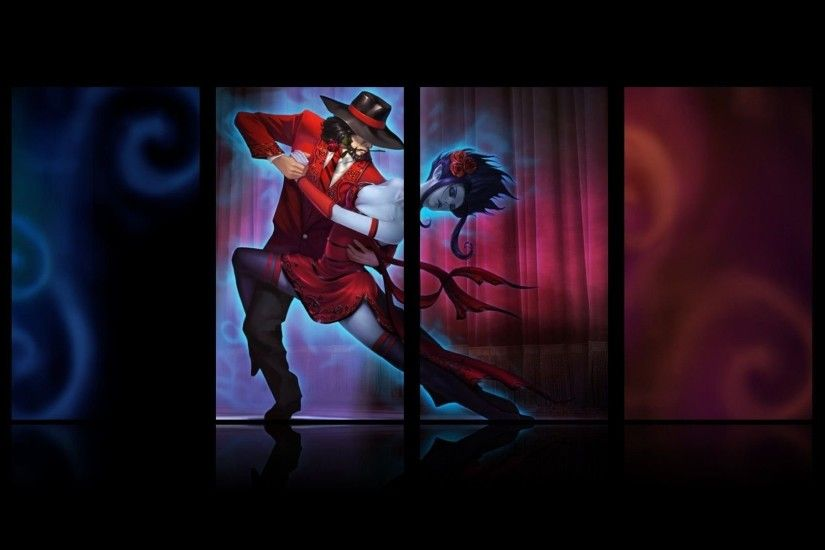 Evelynn The Widowmaker And Twisted Fate ...