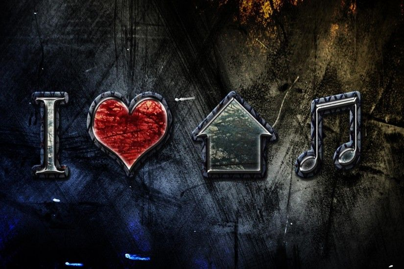 Free Wallpapers – I Love House Music 2560X1440 Wallpaper - Free