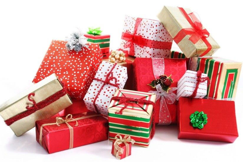 Best Christmas Gifts Wallpaper HD #11810 Wallpaper | High . ...