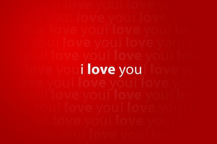 I Love You wallpaper