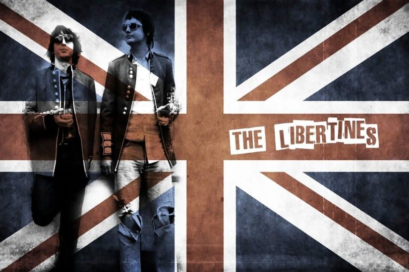 the libertines english rock band music rock uk flag band
