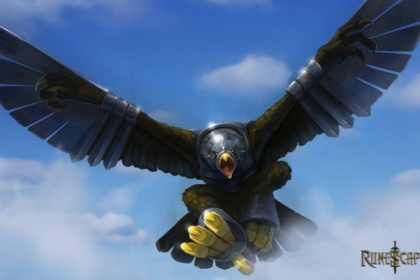 RUNESCAPE fantasy adventure bird eagle armor wallpaper | 1920x1200 .