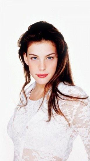 1080x1920 Wallpaper liv tyler, brunette, eyes, dress, celebrity