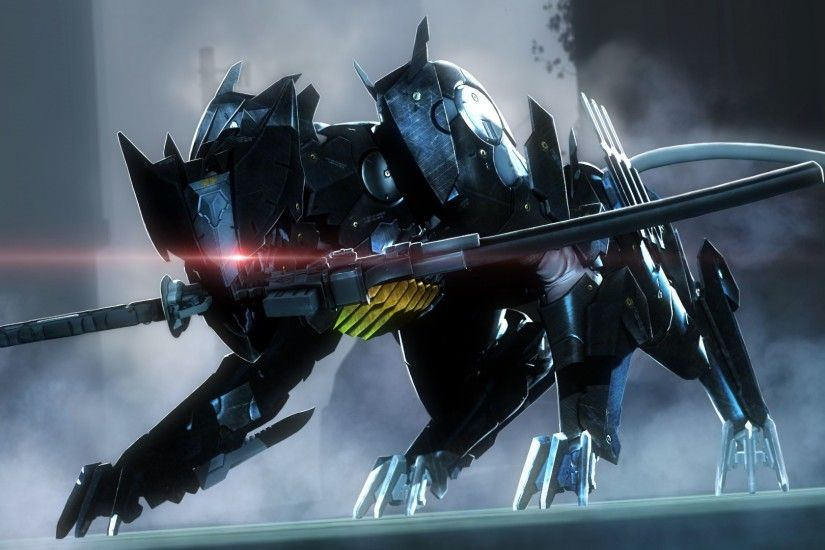 Metal Gear Rising: Revengeance, Metal Gear, Robot, Blade Wolf Wallpapers HD  / Desktop and Mobile Backgrounds