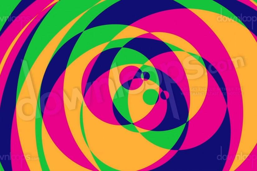 Psychedelic Circles 2 - Colorful Graphical Motion Background Video Loop -  YouTube