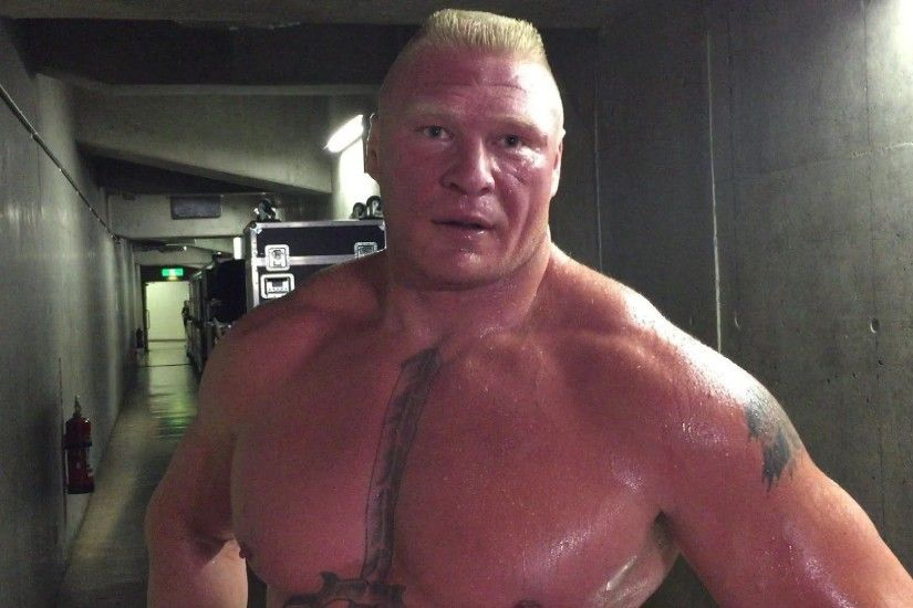 VIDEOS] Brock Lesnar Comments On His Victory Against Kofi Kingston .