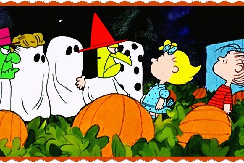 Great Pumpkin Charlie Brown Desktop Wallpapers.