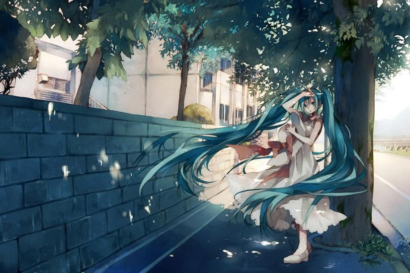 hatsune miku wallpaper 1920x1200 screen