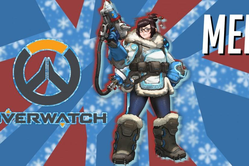 ... Mei from Overwatch/Wallpaper by Stiv2001