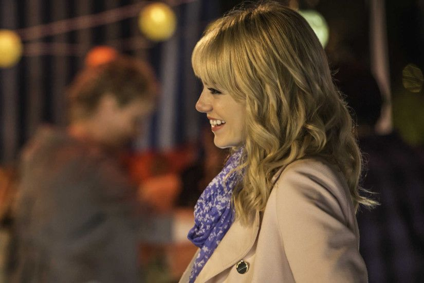emma stone as gwen stacy in the amazing spider man 2