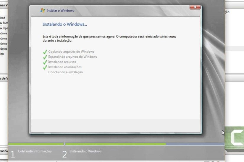 Windows Server 2008 R2 Hyper V Instalando