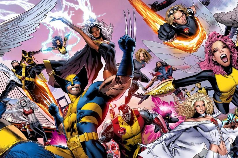 x men cartoon cute wallpaper picture