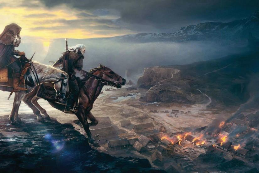 download witcher wallpaper 1920x1080 ipad
