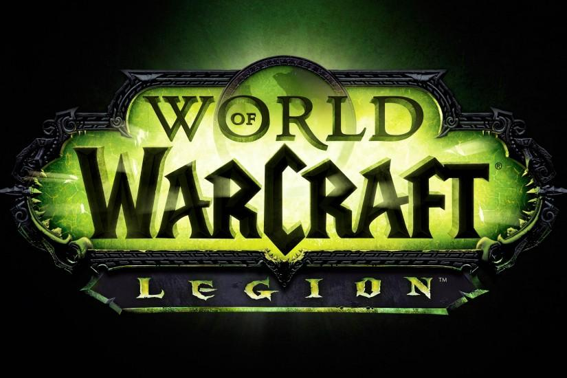 World of Warcraft Legion Logo 3840x2160 wallpaper