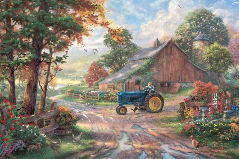 ... sea Thomas, Front Truck, Way, Kinkade, ...