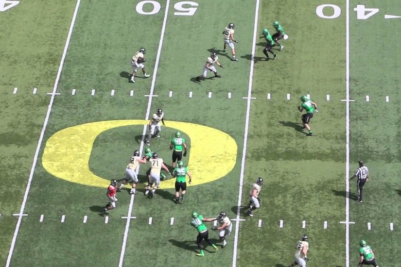 Oregon Ducks spring game highlights