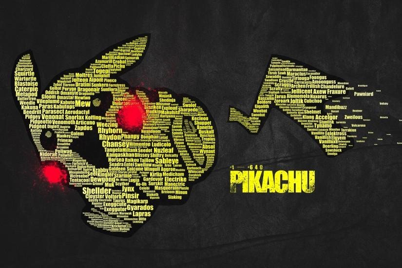 widescreen pikachu wallpaper 2880x1800
