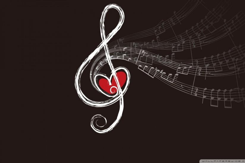 music notes wallpaper 1920x1200 for pc