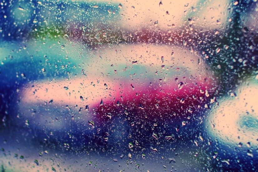 Rain on Window wallpapers and stock photos