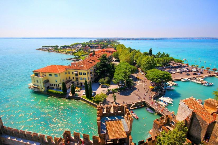Lake garda italy Wallpapers Pictures Photos Images. Â«