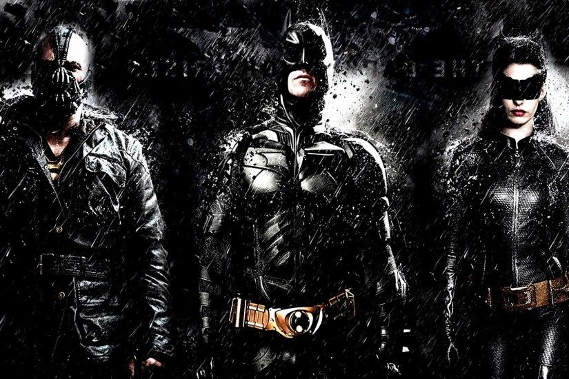 movies, The Dark Knight Rises, Catwoman, Anne Hathaway, Bane, Batman  Wallpapers HD / Desktop and Mobile Backgrounds