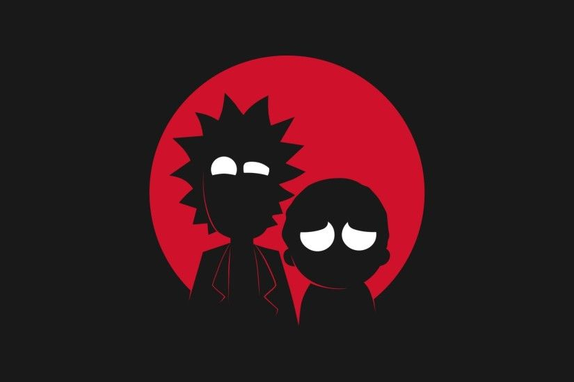 Rick and Morty images rick and morty adult swim minimalism black funny  cartoons 1920x1080 HD wallpaper and background photos