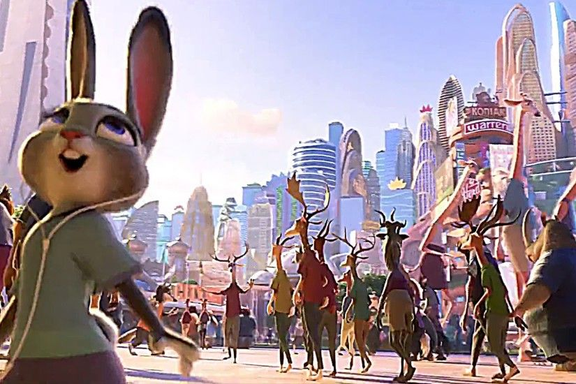 "Welcome to ZOOTOPIA with Shakira's ""Try Everything"" ! - Movie Clip - YouTube"