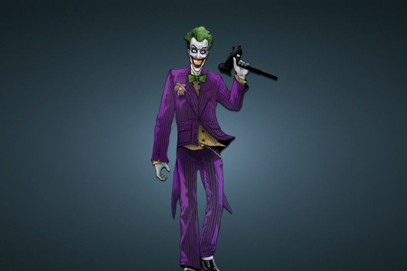 The Joker Arkham City HD desktop wallpaper High Definition