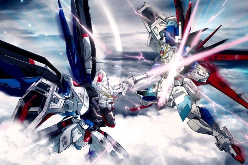 Download Mobile Suit Gundam Seed Destiny Wallpaper 1920x1080 .