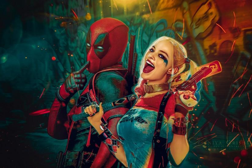 large suicide squad wallpaper 1920x1200 for 4k
