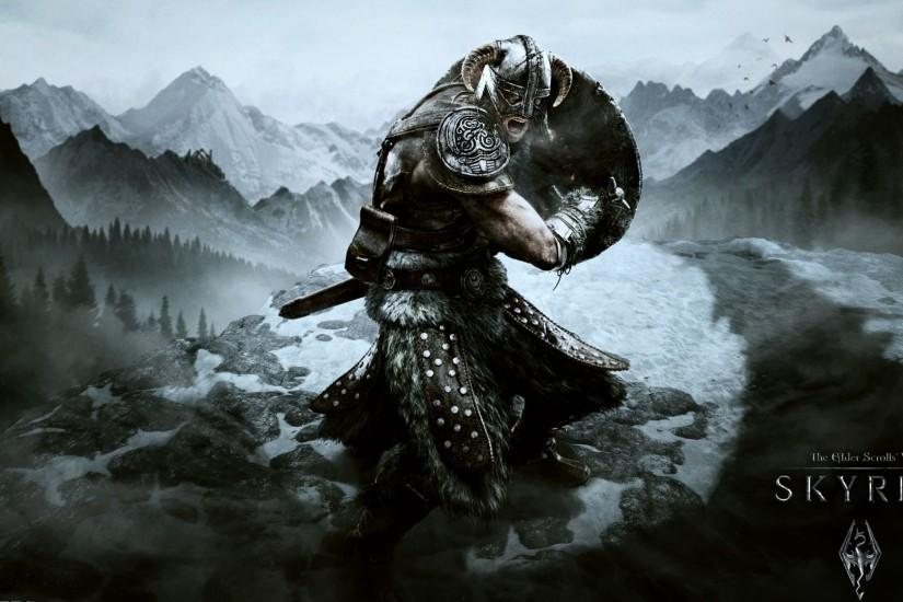 widescreen skyrim wallpaper 1920x1080 x for pc