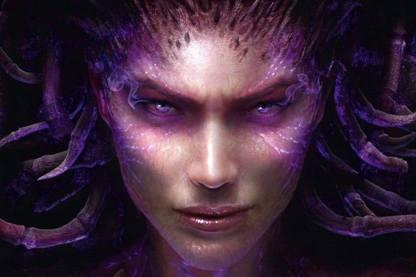 Sarah Kerrigan - StarCraft Wallpaper #