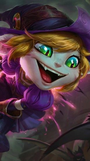 Bewitching Tristana Skin Splash Art