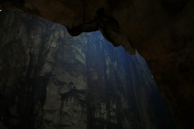 Water drops from dusk cave vault, limestone wall on background Stock Video  Footage - VideoBlocks