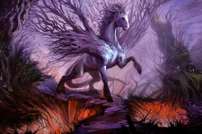 Anime Fantasy Horse Wallpapers