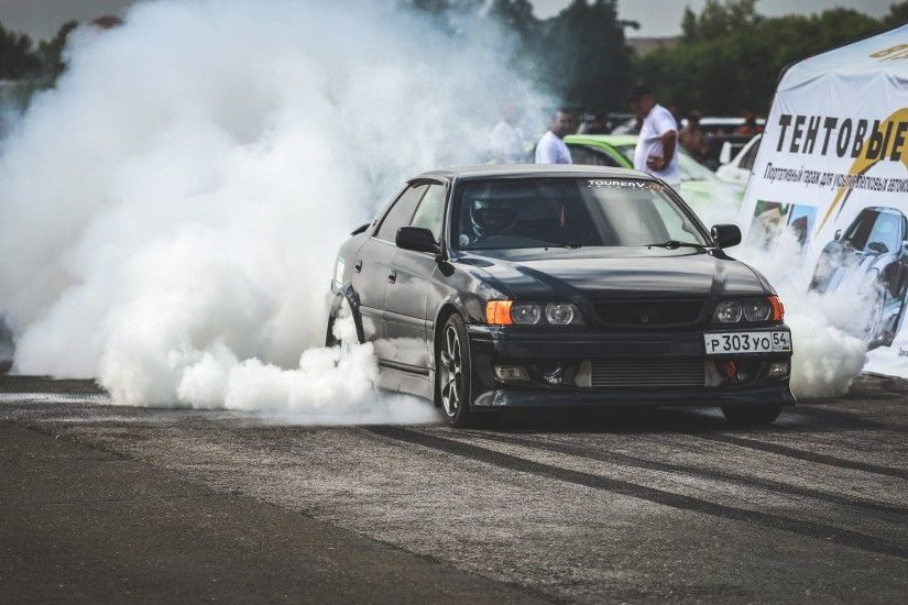 Toyota chaser drift car wallpaper